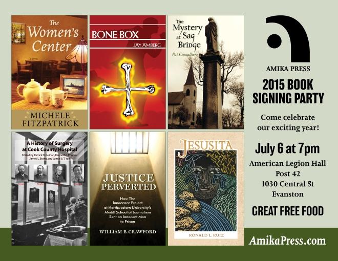 Amika Press 2015 Book Signing Party