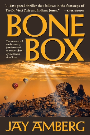 Bone Box by Jay Amberg. Cover photography by muratart and Vladyslav Danilin, Shutterstock.